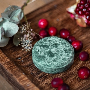 vegan solid shampoo for all hair types
