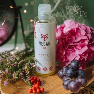 Vegan Fox body oil red grape