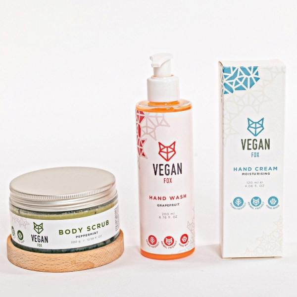 hand care bundle Vegan Fox
