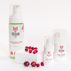 Vegan Fox face care bundle 3 steps