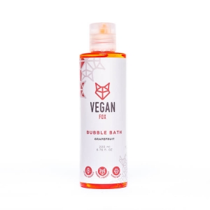 Grapefruit bubble bath bath foam vegan fox hand made