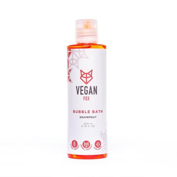Grapefruit bubble bath bath foam vegan fox hand made