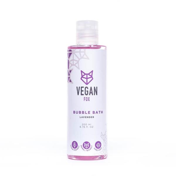 Lavender bubble bath bath foam vegan fox hand made