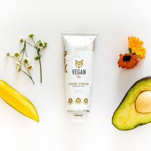 Protective hand cream mango butter vegan fox hand made