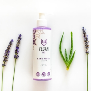 Lavender hand wash vegan fox hand made