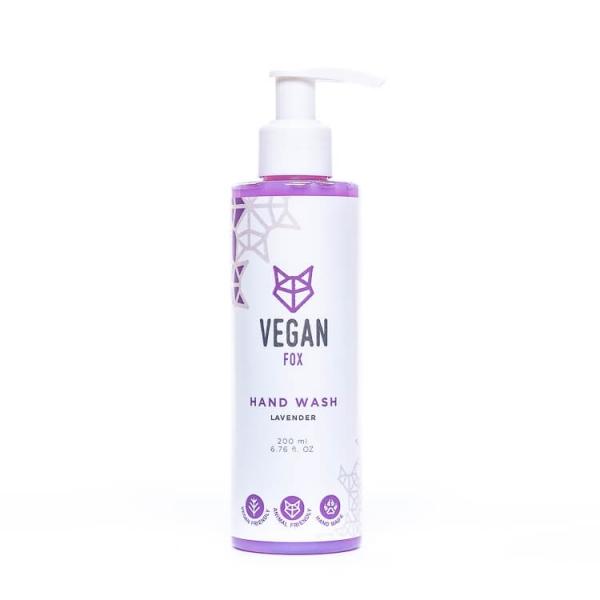 Lavender hand wash vegan fox hand made