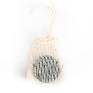 cotton mesh bag for solid shampoo shampoo bar
