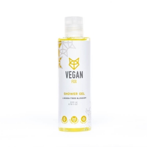 Linden tree shower gel vegan fox hand made
