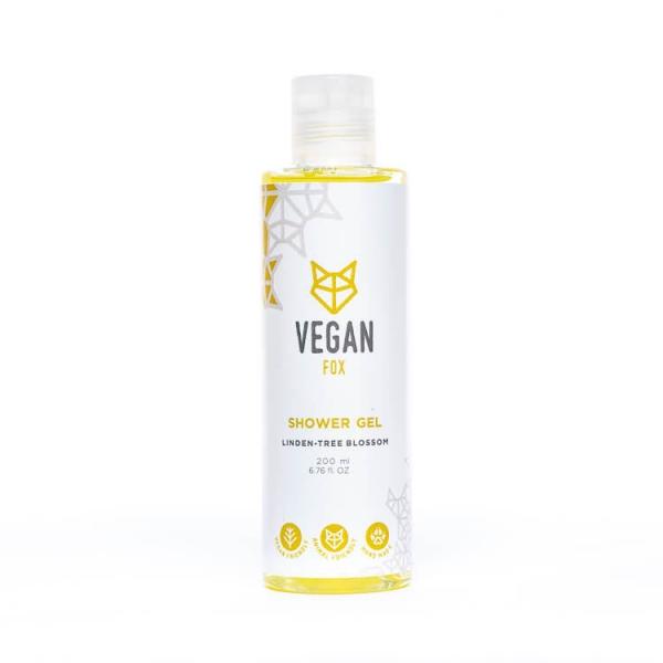 Linden tree shower gel vegan fox hand made
